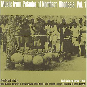 Music From Petauke of Northern Rhodesia - Vol. 1-Music From Petauke of Northern Rhodesia [CD] USA import