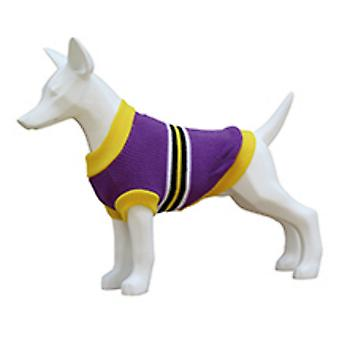 Freedog Jersey Stripes Lila (Dogs , Dog Clothes , Sweaters and hoodies)