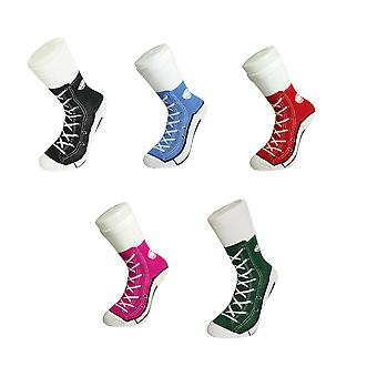 Sneaker strømper sko design sneaker joke sokker