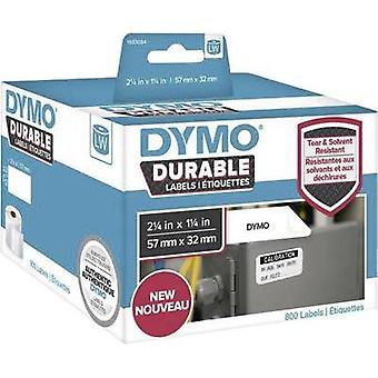 DYMO Labels (roll) 57 x 32 mm White 800 pc(s) Permanent 1933084 All-purpose labels, Address labels