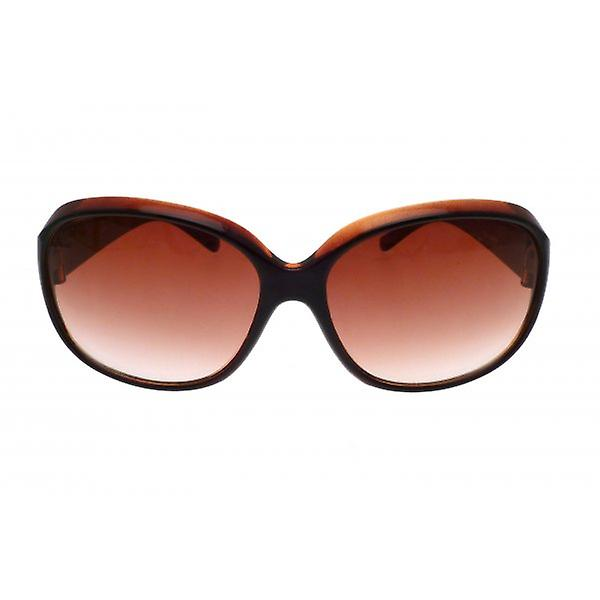 W.A.T Brown Rounded Women's Sunglasses