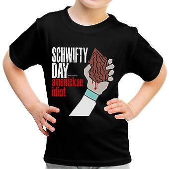 Schwifty Tag Americkan Idioten Green Day Rick und Morty Kid-t-Shirt