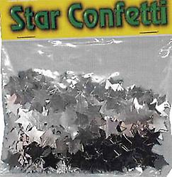 Confetti Large Silver Star's 84gm