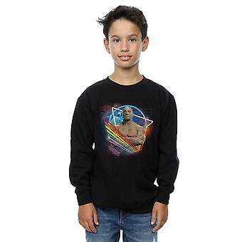 Marvel Boys Guardians of the Galaxy Neon Drax Sweatshirt