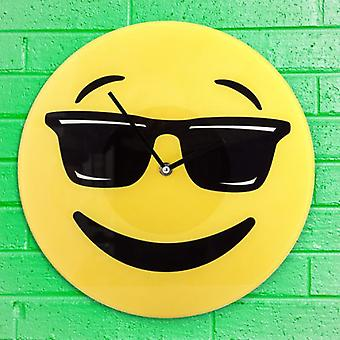 Bigbuy Cool Wall Clock Emoticono (Decoration , Clocks)
