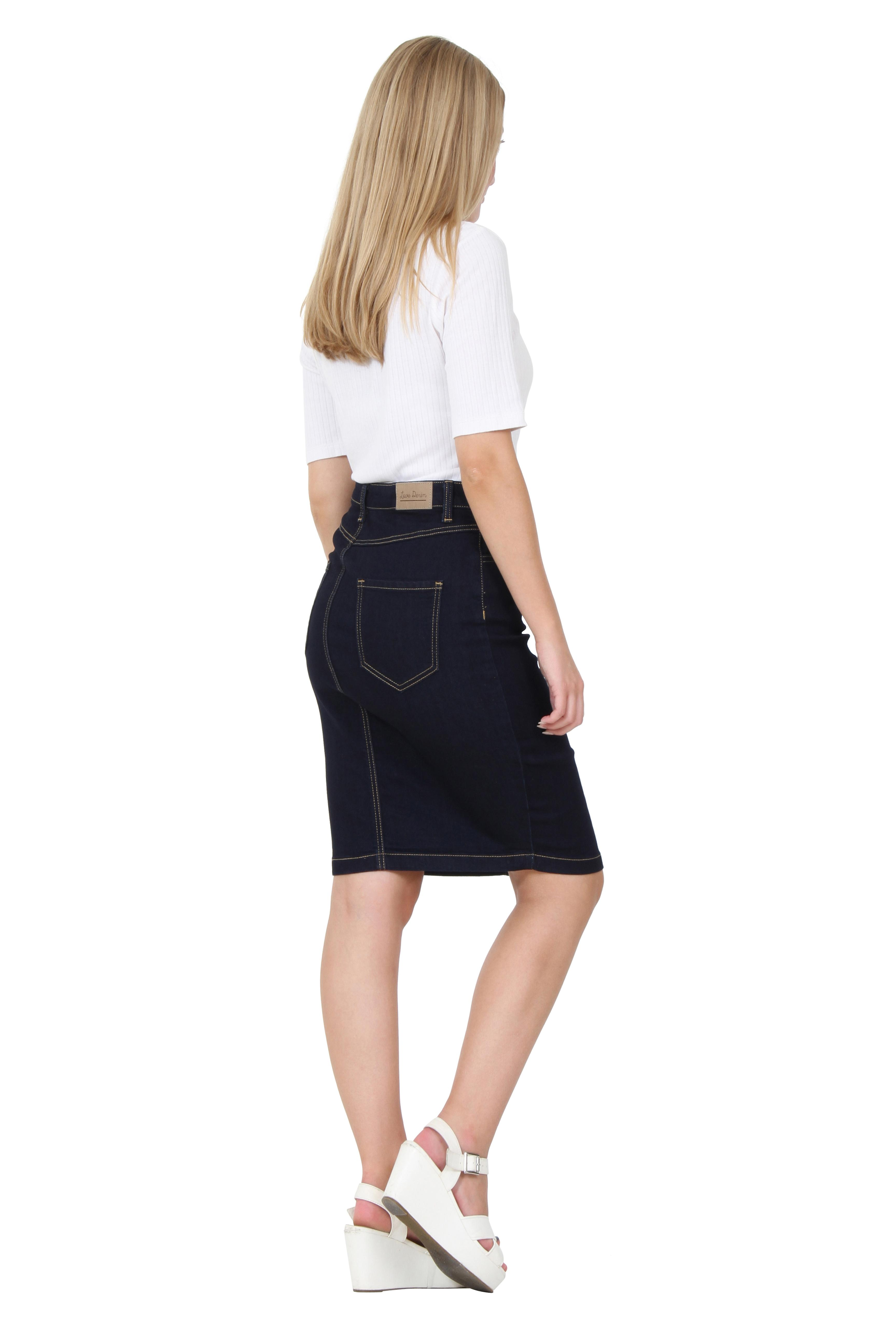 Find great deals on eBay for knee length denim skirts. Shop with confidence.