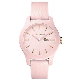 Lacoste 2001003 watch - watch Silicone Pink woman