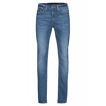Lee Arvin regular tapered mens jeans Blau denim