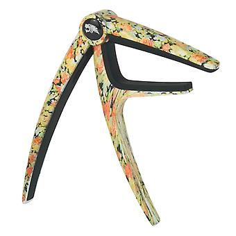 Tiger Guitar Capo for Electric & Acoustic Guitar - Floral