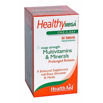 Health Aid Healthy Mega  - Prolonged Release ,  30 Tablets