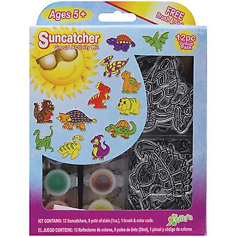 Suncatcher Group Activity Kit Dinosaurier 12 Pkg Sgp 69227