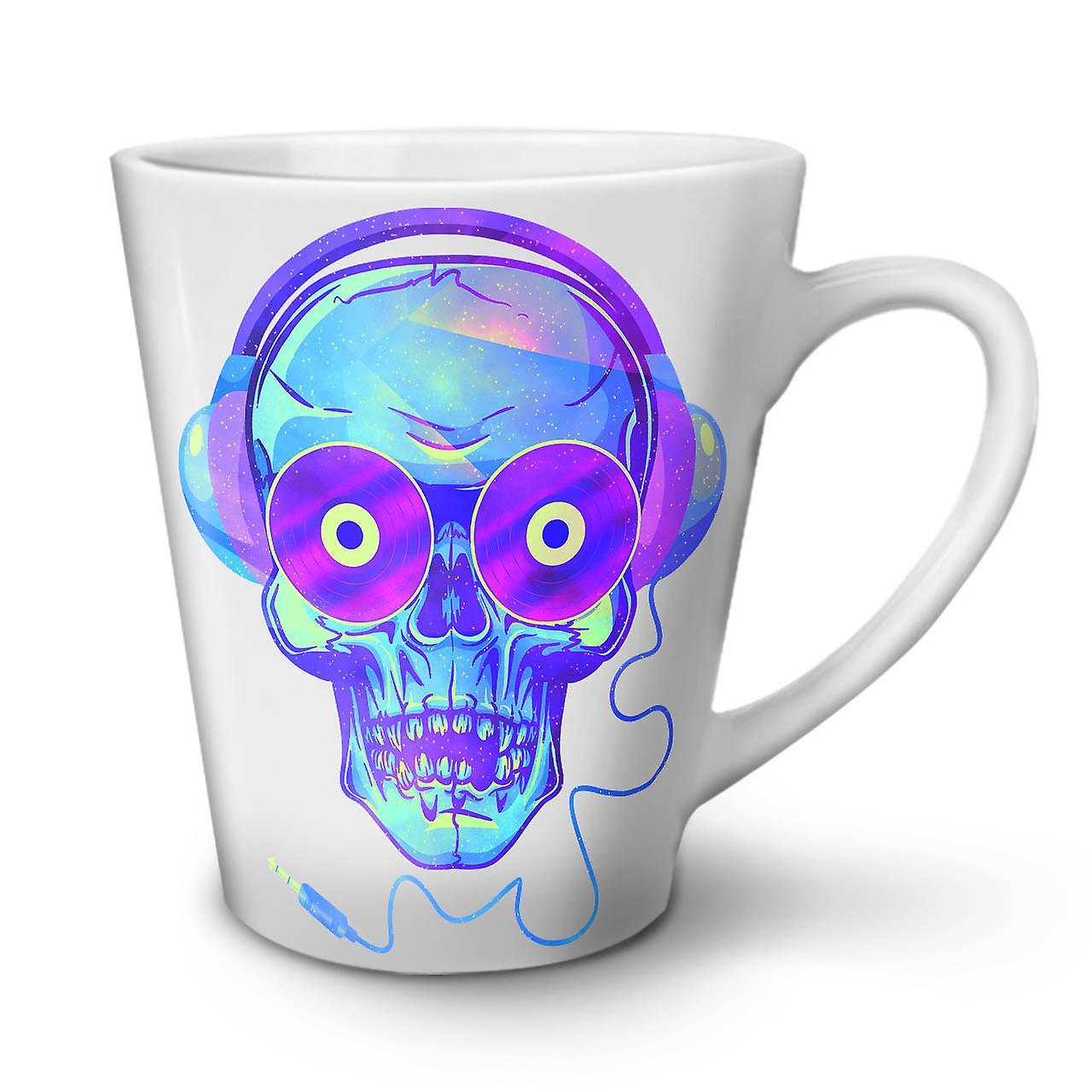 OzWellcoda Casque Café Skull Blanche En 12 Nouvelle Céramique Latte Tasse zpqVSUM
