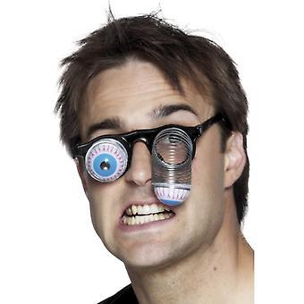 Висит очки с металлической пружиной