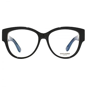 Saint Laurent SL M5 Glasses In Black
