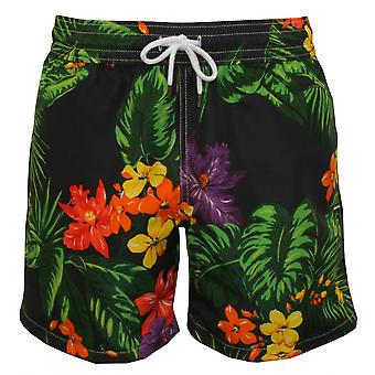 Polo Ralph Lauren Floral Traveller Swim Shorts, Navy/Multi