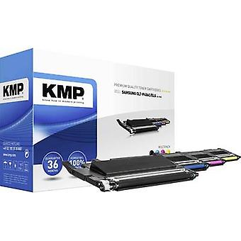 KMP Toner cartridge combo pack replaced Samsung CLT-P406C, CLT-K406S, CLT-C406S, CLT-M40