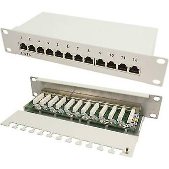 12 ports Network patch panel LogiLink NP0041 CAT 6