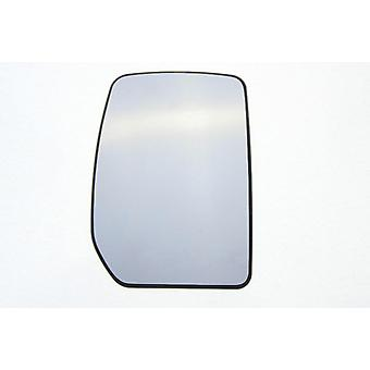 Right Mirror Glass (not heated) & Holder for FORD TRANSIT van 2000-2014
