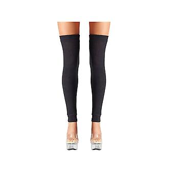 Be Wicked BW711 Thigh Highs Black