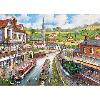 Gibsons Ye Olde Mill Tavern Jigsaw Puzzle (1000 pieces)