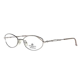 Catherine Deneuve glasses ladies silver