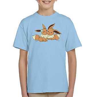 Eevee Love Pokemon Kid's T-Shirt