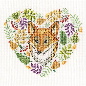 Forest Patterns Counted Cross Stitch Kit-7.5