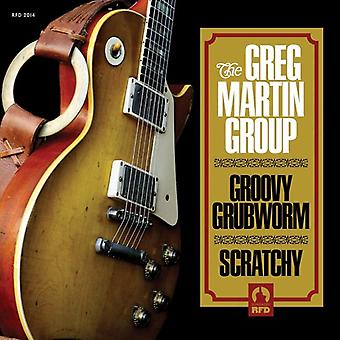 Greg Martin - Groovy Grubworm / Scratchy [Vinyl] USA import