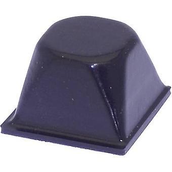 TOOLCRAFT PD3206SW Fuß selbstklebend, kreisförmige schwarz (Ø x H) 20,5 x 13,2 mm 1 PC