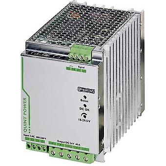 Phoenix Contact QUINT-PS/3AC/24DC/40 Rail mounted PSU (DIN) 24 Vdc 40 A 960 W 1 x