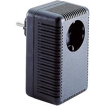 Connector housing 53 x 67 x 110 Acrylonitrile butadiene styrene Black Strapubox SG 422 1 pc(s)