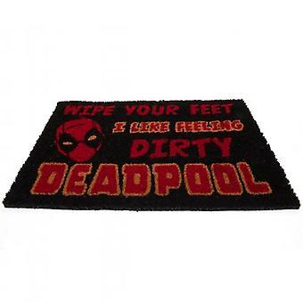 Deadpool Doormat Dirty Wipe Your Feet