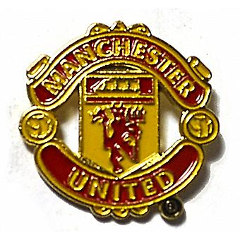 Manchester United Fc Metall / Emaille Pin Badge