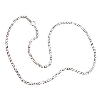 Gemshine - ladies - necklace - solid 925 Silver - 90 cm