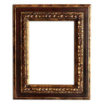 Inner dimensions 12, 5 x 17, 5 cm or 5 x 7 inch photo frame in gold