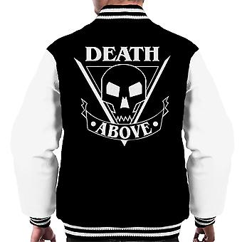 Starship Troopers Death Above Men's Varsity Jacket