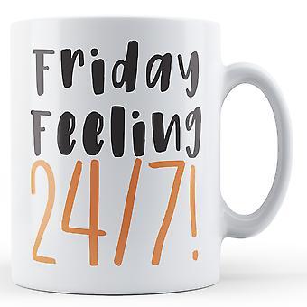 Friday Feeling 24/7! Retirement - Printed Mug