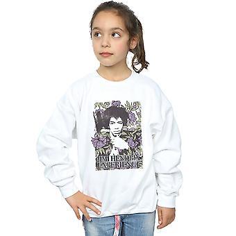 Jimi Hendrix piger Vogue Floral Sweatshirt