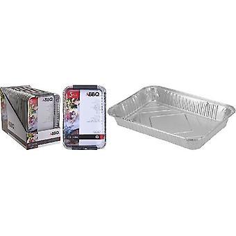 Barbecue aluminium échelles Set 5 PCs