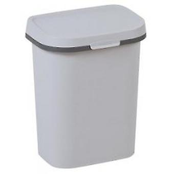 Allibert waste bin Mistral flach 10 l grau