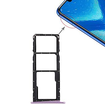 Replacement SIM card holder adapter SIM tray for Huawei honor 8 X repair purple new