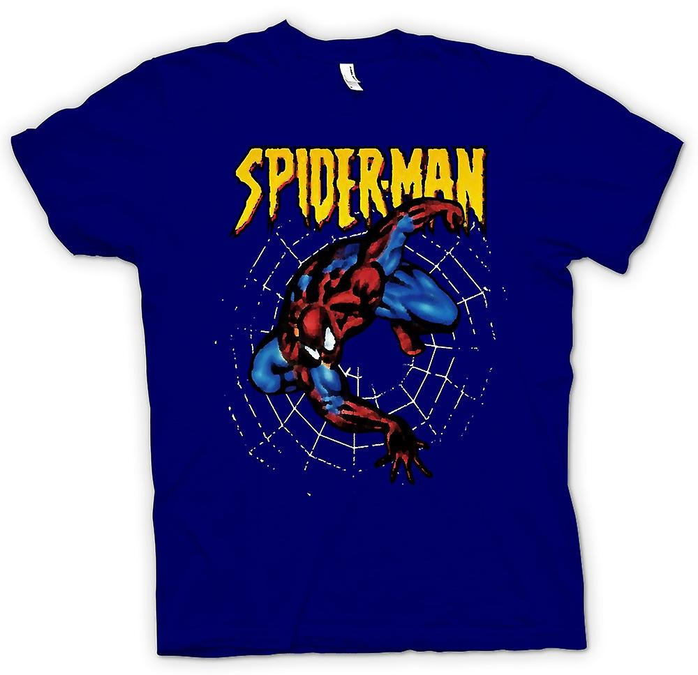 Mens T-shirt - Superman - Spiderman - Pop Art - Comic Hero