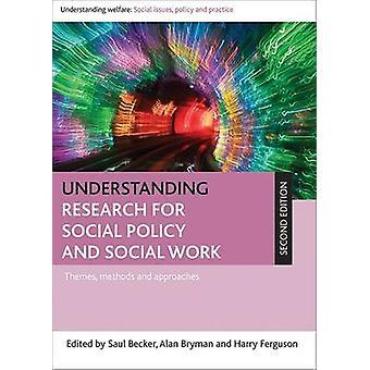 Forschung für Sozialpolitik und Sozialarbeit - Themen - mich zu verstehen