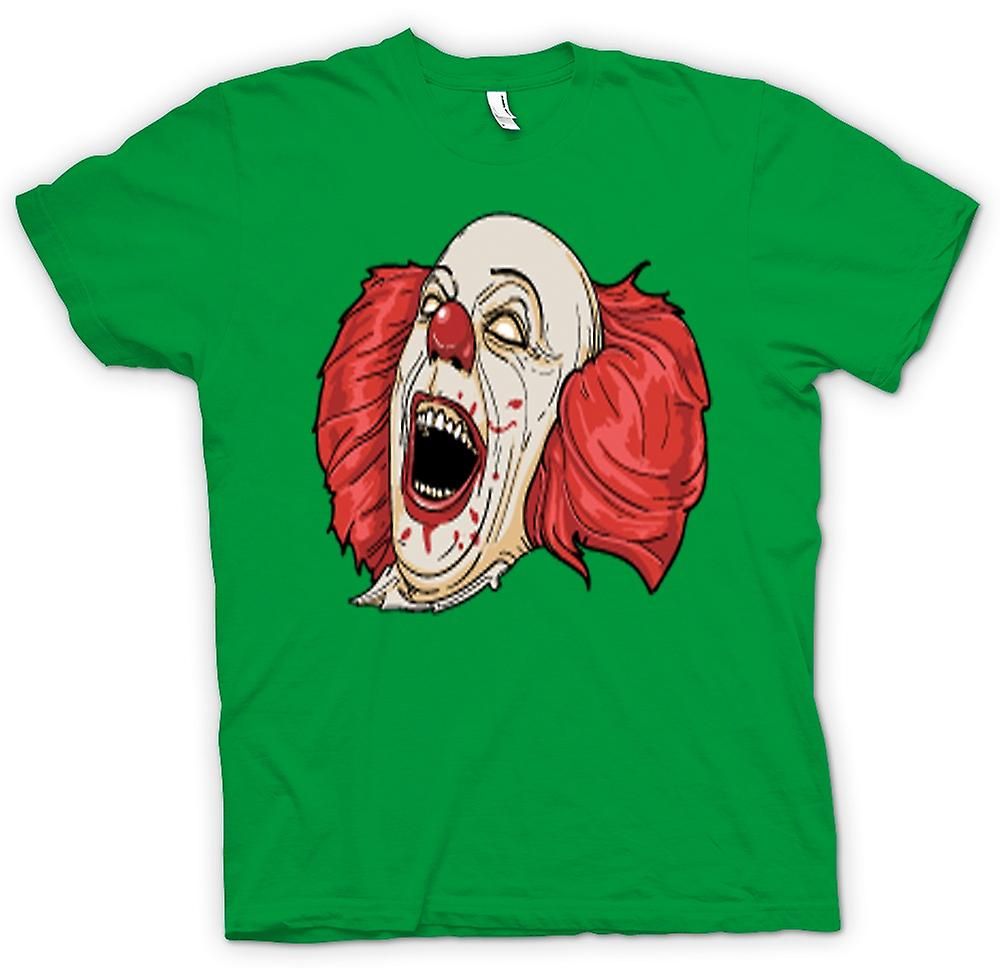 Mens T-shirt - Stephen King's It Pennywise Portrait