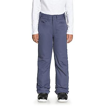 Roxy Crown Blue Backyard Girls Snowboarding Pants