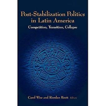 Post-Stabilization Politics in Latin America: Competition, Transition, Collapse