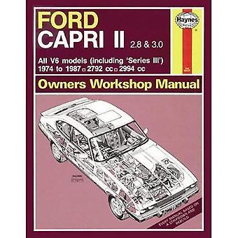 Ford Capri 2.8 & 3.0 Owner's Workshop Manual - Haynes Service and Repair Manuals