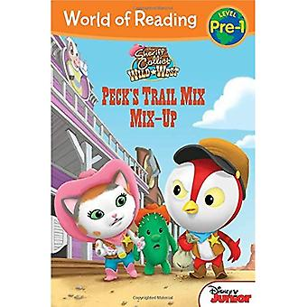 Sheriff Callie's Wild West Peck's Trail Mix Mix-Up (World of Reading: Level Pre-1)