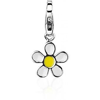 Charm stone Lawson JC99A200 - Charm pendant flower yellow woman