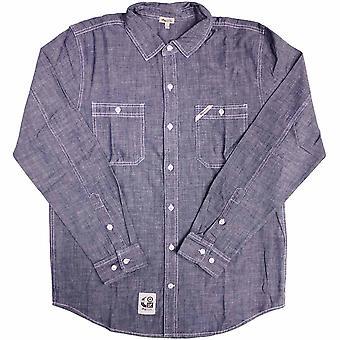 LRG Core Collection L/S lavoro camicia blu nautico